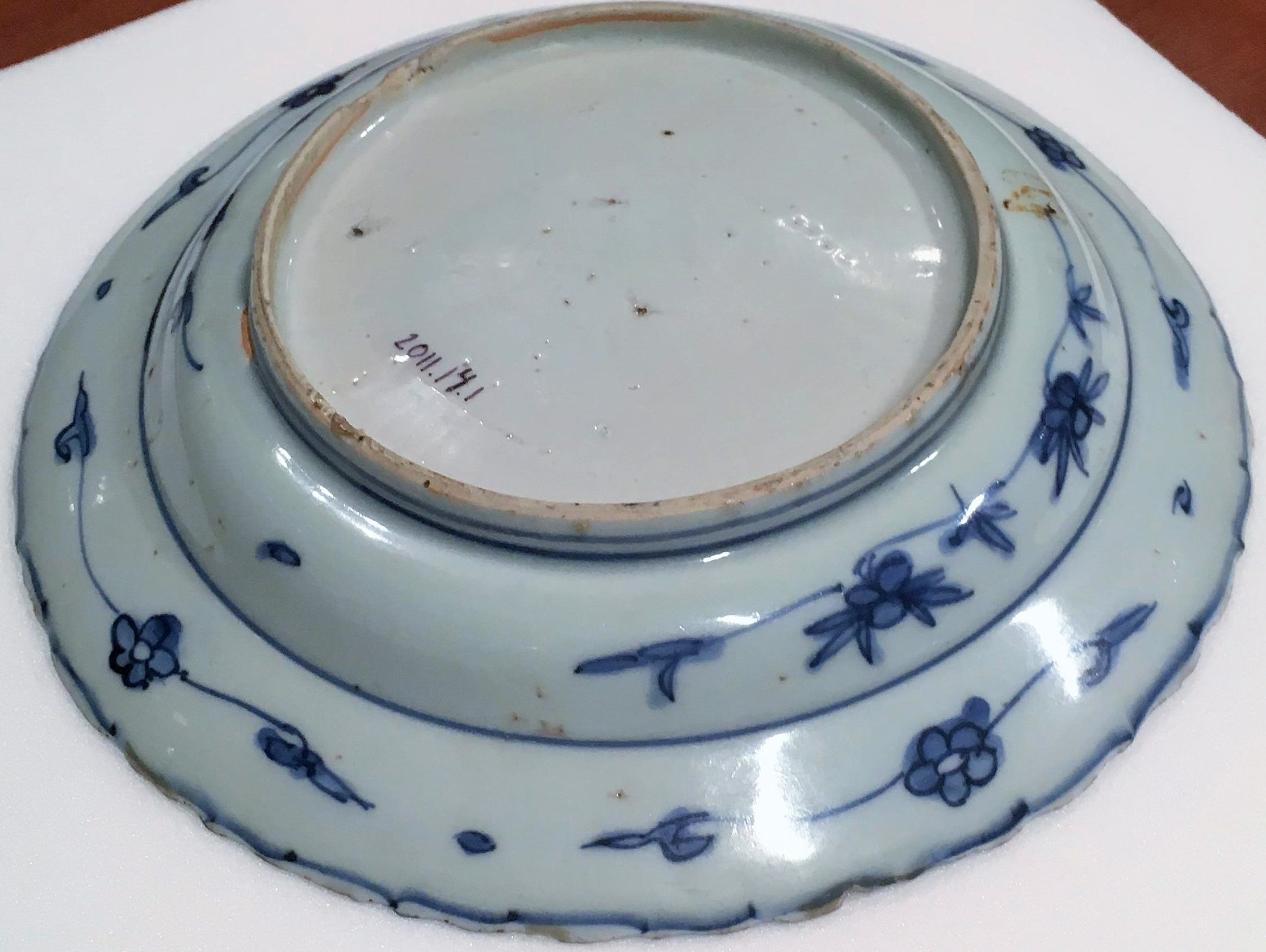 Blue-and-White Wonder: Ming Dynasty Porcelain Plate – Wonders of