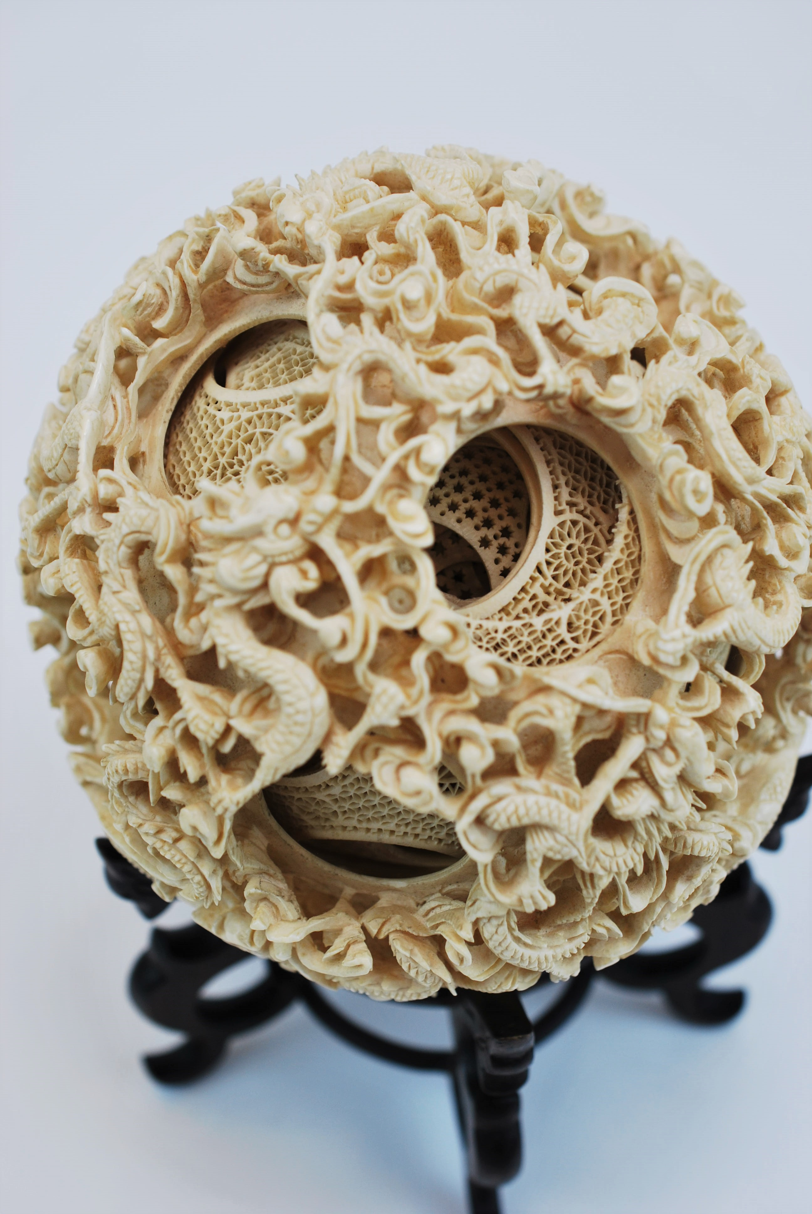 Carved Ivory Puzzle Balls Wonders Of Nature And Artifice